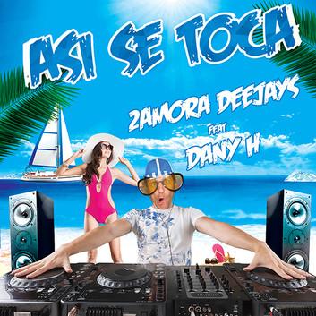 2AMORA DEEJAYS FEAT DANY H Pochette J2PG