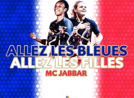 Une chanson pour supporter l'équipe de France de foot féminin