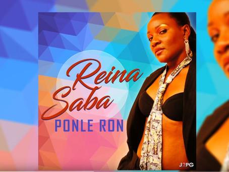 """Reina Saba la princesse du Reggaeton présente son nouveau single """"Ponle Ron"""" ( Vidéo)"""