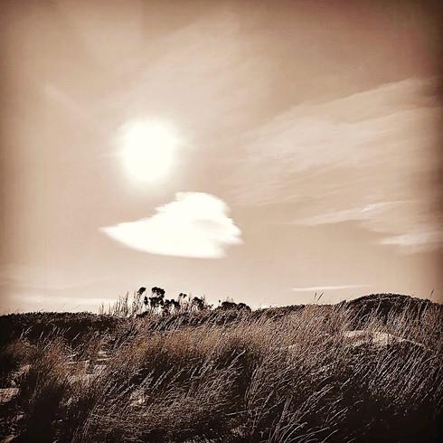 Sun cloud dunes