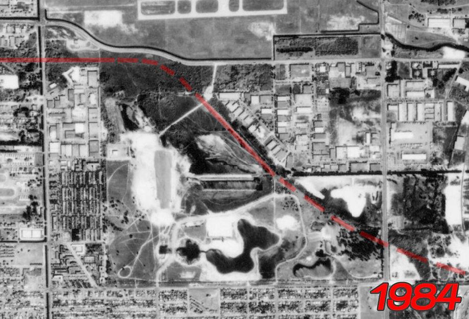 Site of Amelia Earhart Park in 1984.