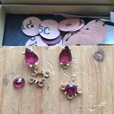 Earrings ( in progress )