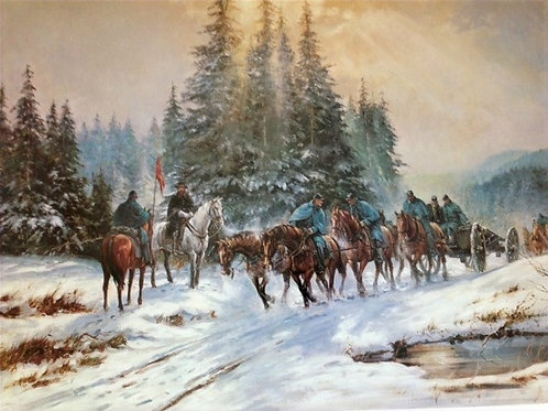 TO WINTERS QUARTERS - Alan Fearnley