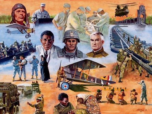 SHOULDER TO SHOULDER -ARMY RESERVES-