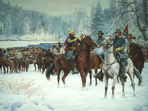 THE CHRISTMAS RAID - Note Cards