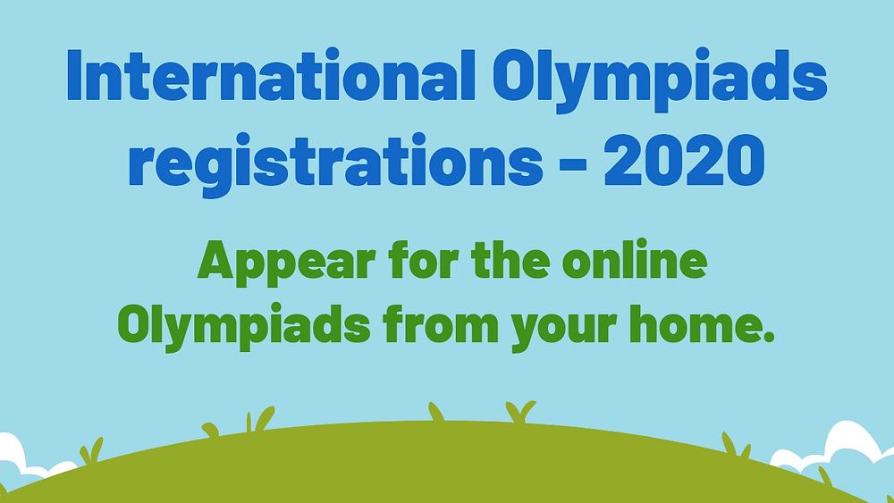 Online registration for olympiads , olympiad syllabus , olympiad practice books, olympiad dates , maths olympiad, science olympiad , english olympiad