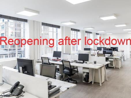 Lockdown Business Tip # 1