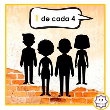 1 DE CADA 4