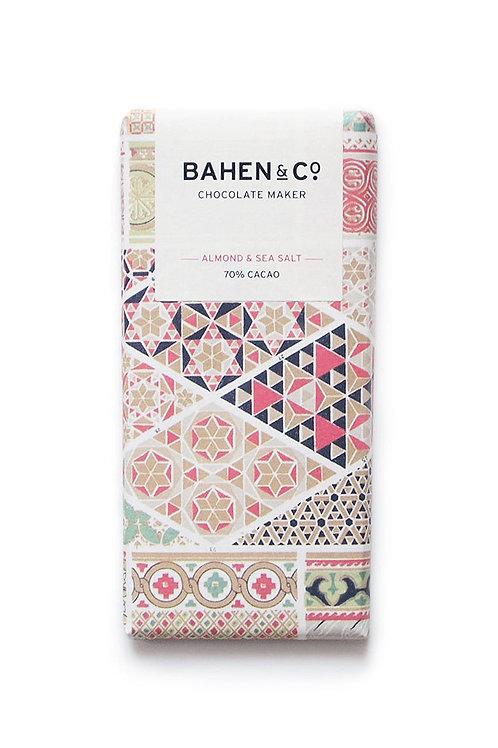 BAHEN & Co - Almond & Sea Salt 70% Cacao