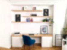 Bureau et etagères murales bowud.com