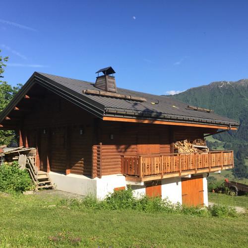 Expertise de toiture sur un chalet de montagne