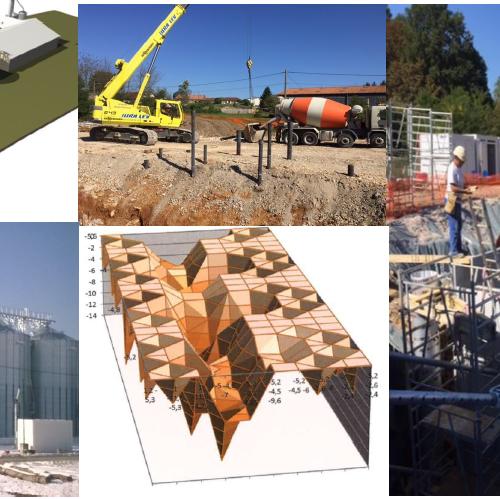 Construction d'un silo à céréale
