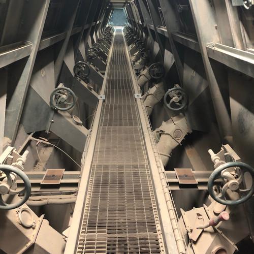 Reprise de céréales en silo