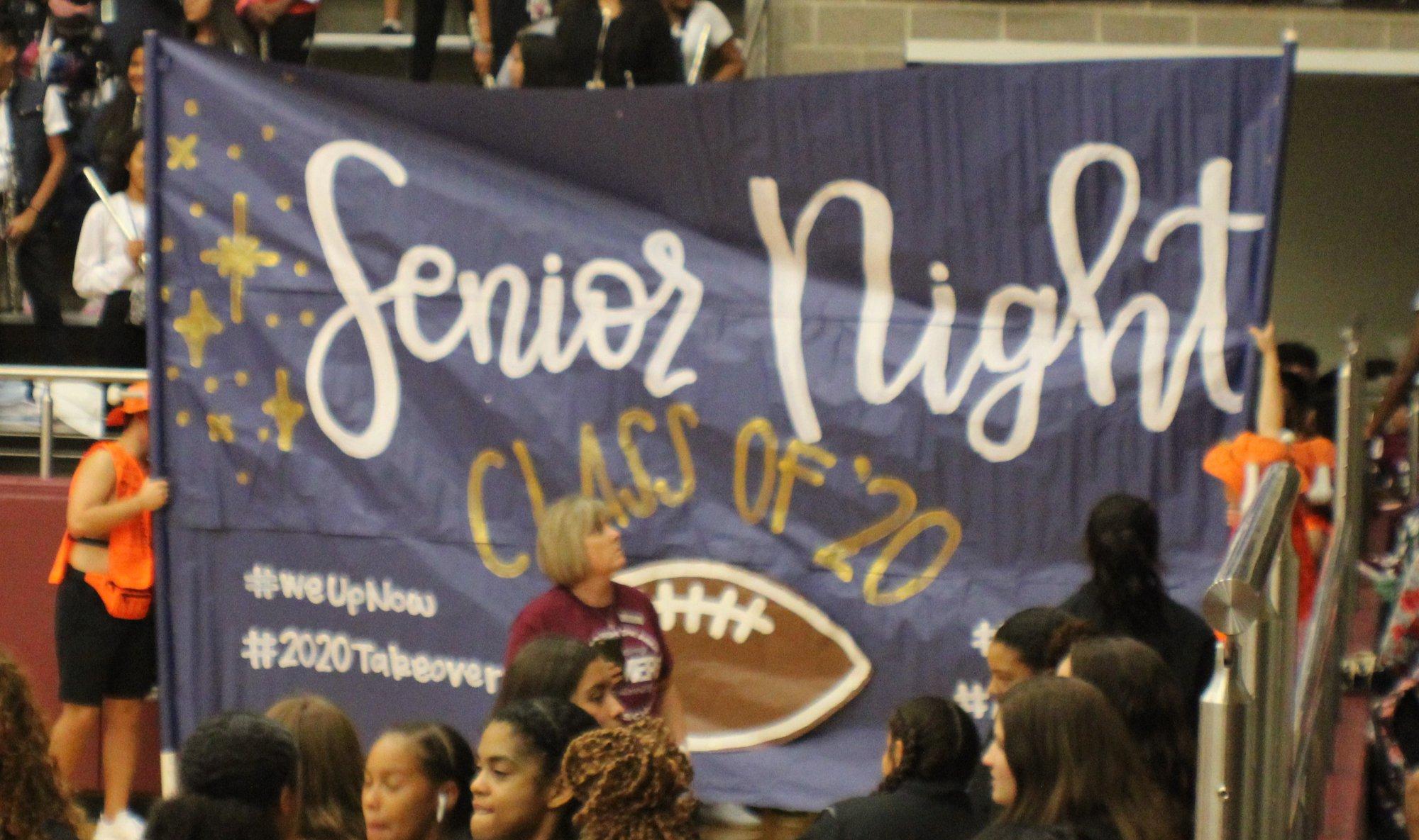 9/13 Senior Night Pep Rally