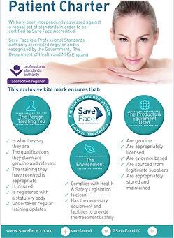 Save Face Patient Charter
