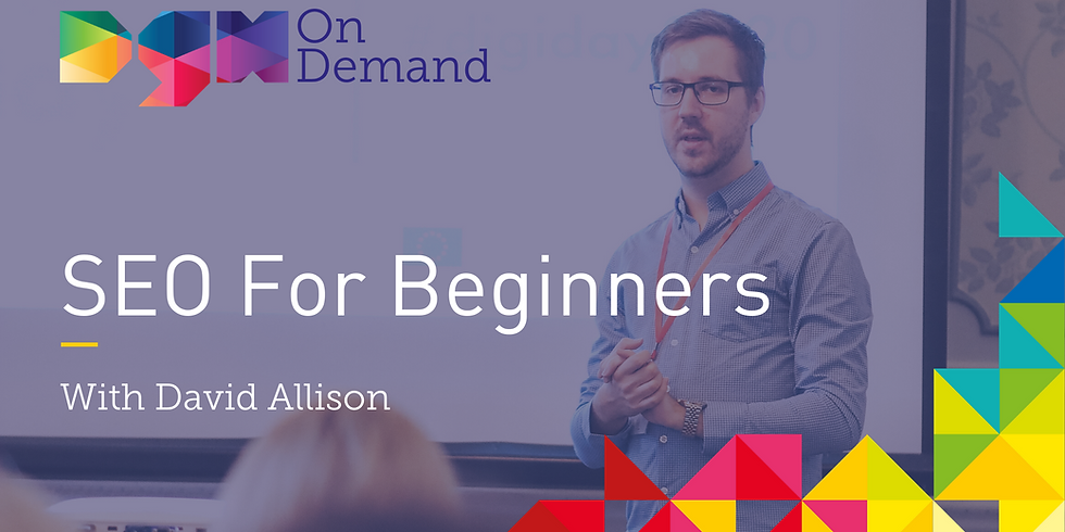 On-Demand: SEO For Beginners