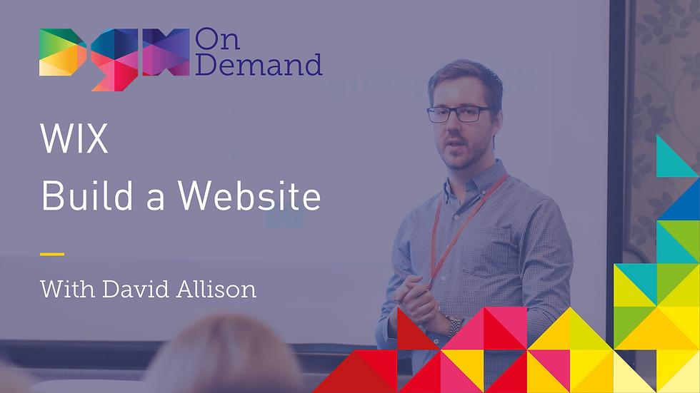 On-Demand: WIX - Build A Website