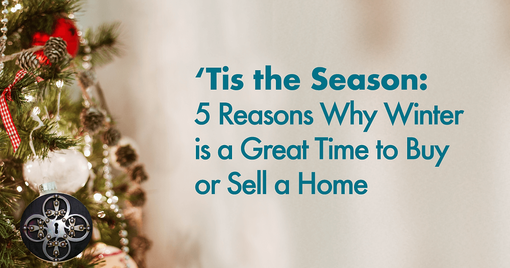 5 reasons to buy a house in the winter.