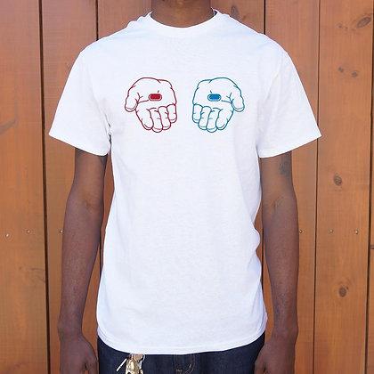 Red Pill, Blue Pill T-Shirt - Mens
