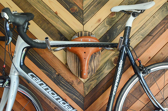 The Highland Taxidermy Bicycle Storage Rack - Iron Roots Designs