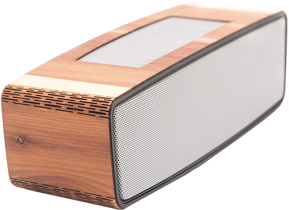 Handcrafted Portable Wooden Bluetooth Speaker - WUDN