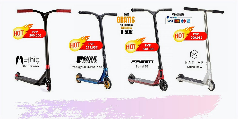 scooter ethic-blunt-fasen-native-sbsshop