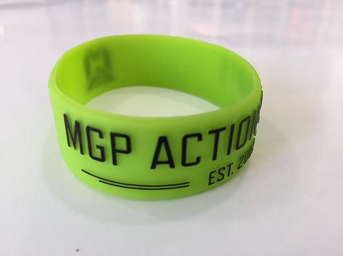 Pulsera MGP silicona logo