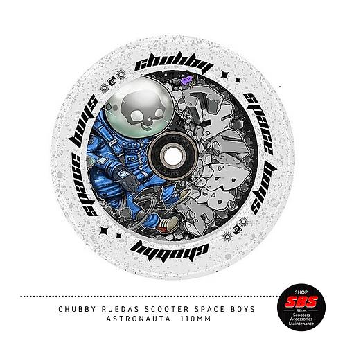 CHUBBY RUEDAS SCOOTER SPACE BOYS ASTRONAUTA