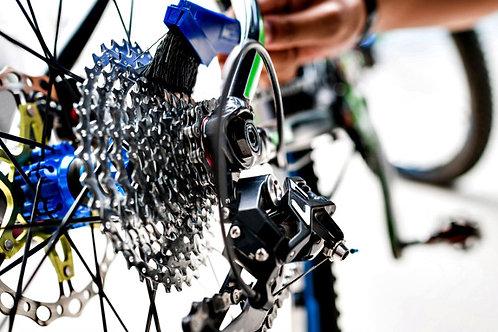 Limpieza de bicicleta