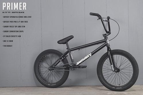 SUNDAY BMX PRIMER NEGRA 2021