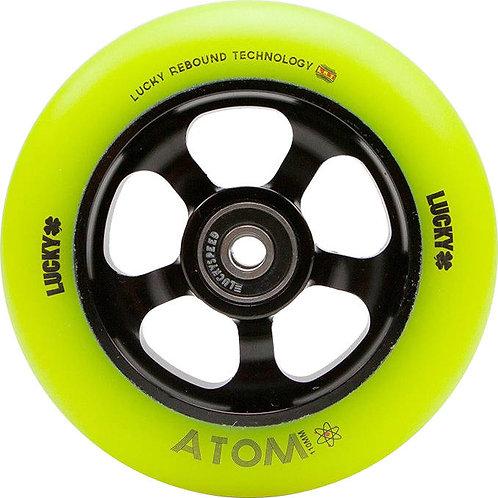 Rueda LUCKY Atom 110mm - Verde flour