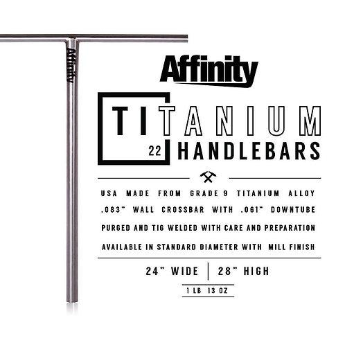 Manillar AFFINITY Titanium Standar