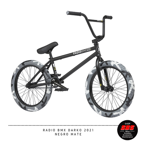 RADIO BMX DARKO 2021 NEGRO MATE