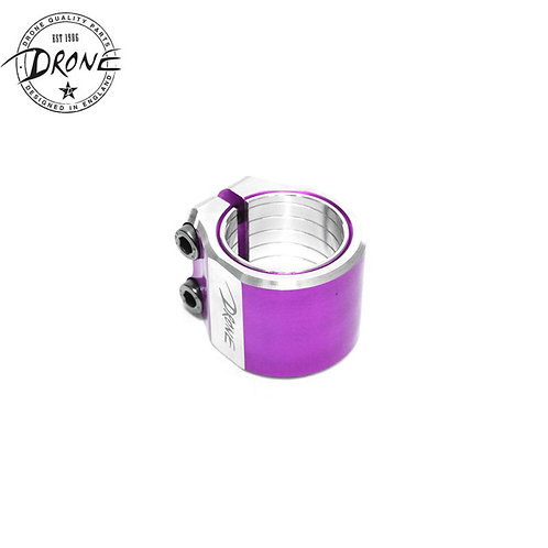 Drone Contrast Double Clamp Purple