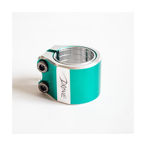 Drone Contrast Double Clamp Teal
