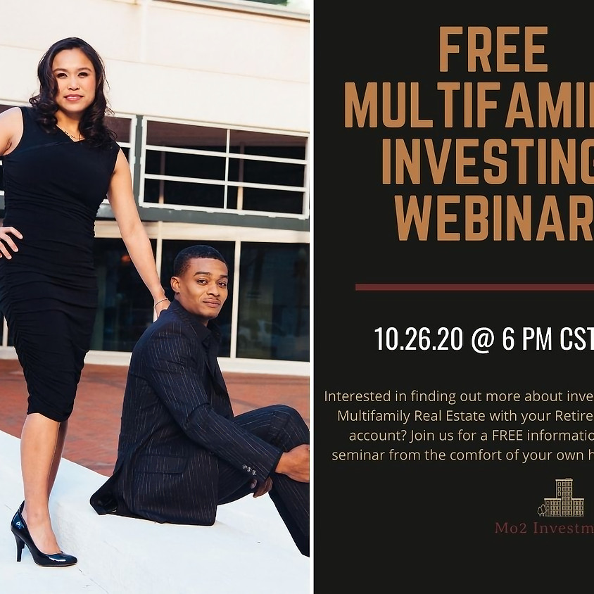 Investing in Multifamily with your Retirement Account- FREE Webinar
