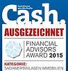 Pflegefonds - Cash Magazin Auszeichnung
