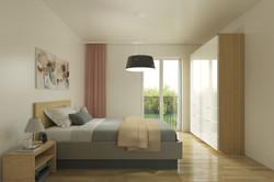 Immac Neubau Soltau-Schlafzimmer