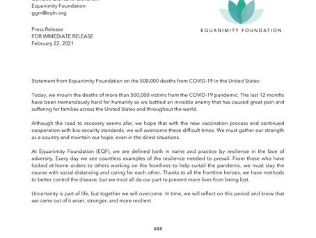 COVID - 19 Victims Press Release