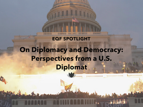 On Diplomacy and Democracy: Perspectives from a U.S. Diplomat