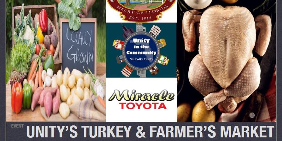 Thanksgiving Farmer's Market & Turkey Giveaway