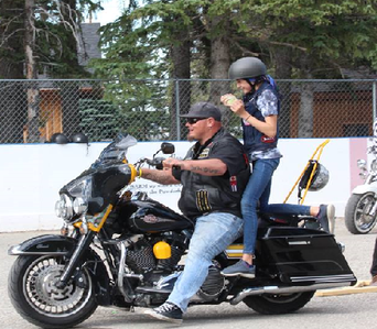 Ride for Sight Alberta 2018 Bragg Creek