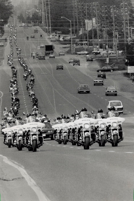 1989 Ride for Sight 10th Parade led by T