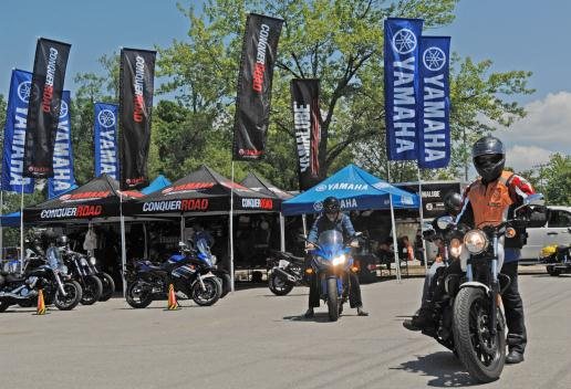 Ride for Sight with Yamaha Motors Canada