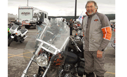 Jerry Kubik at Ride for Sight Alber