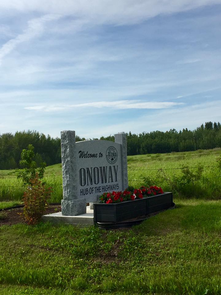 16 AB Onoway sign