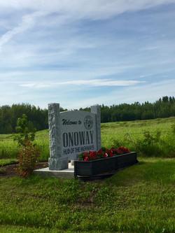 16 AB Onoway sign