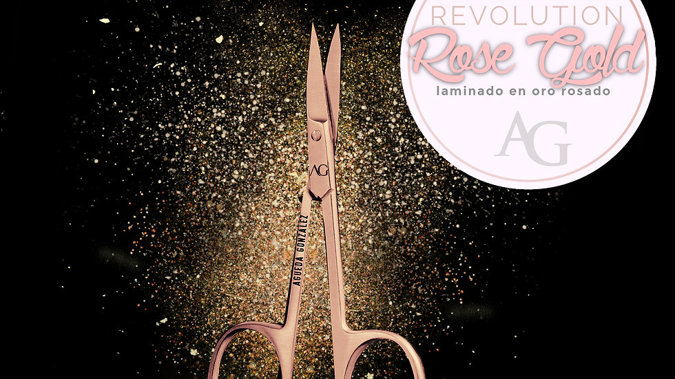 The scissors AG Rose Gold