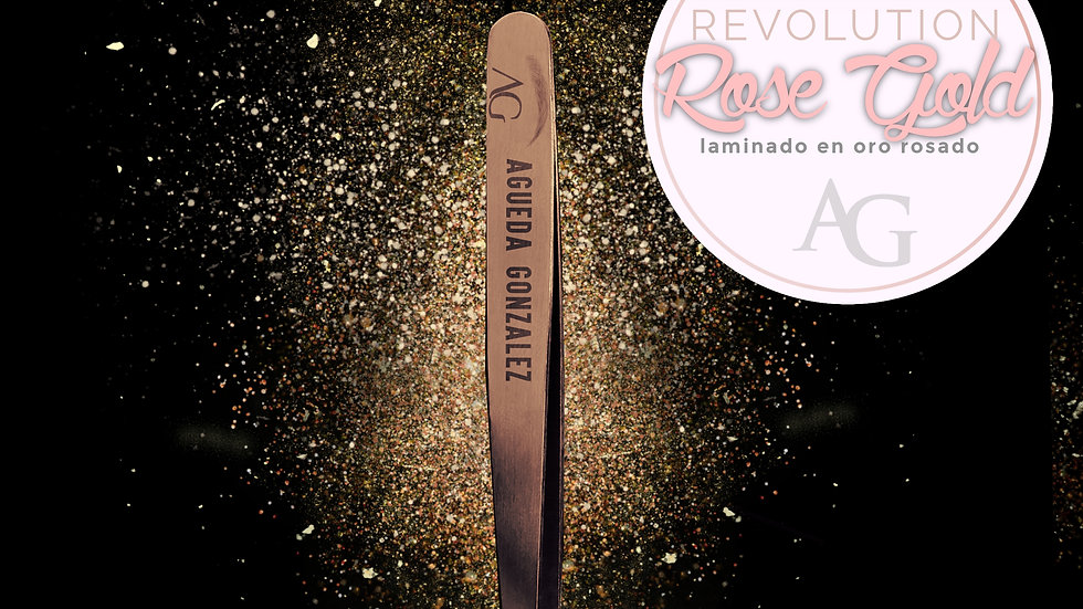 The tweezers AG Rose Gold