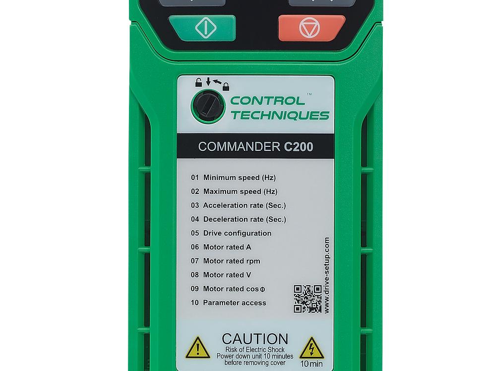 Commander C200 380V 1.5 kW